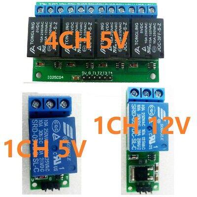5v12v Latch Relay Module Flip-flop Bistable Self-locking Trigger Switch Board