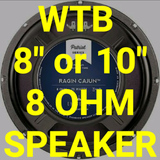 Wanted: WTB SPEAKER