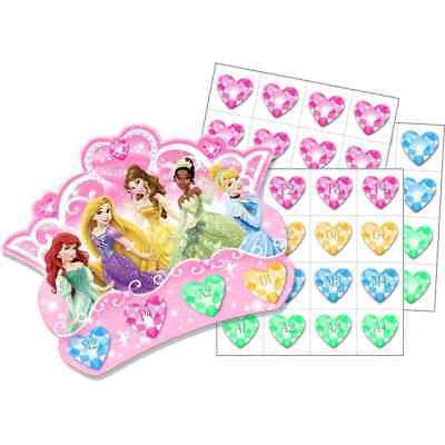Games For Birthday Parties (Disney Princess birthday party supply-bingo games for)