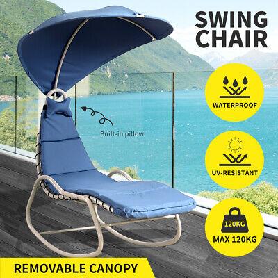 Garden Furniture - Outdoor Furniture Sun Lounge Swing Chair Lounger Canopy Bed Sofa Garden Patio