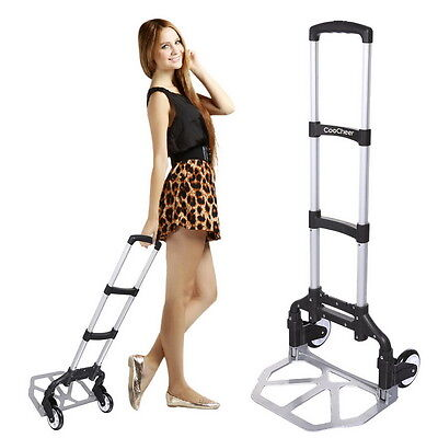 Portable Folding Hand Truck Dolly Luggage Carts, Handling/Tr