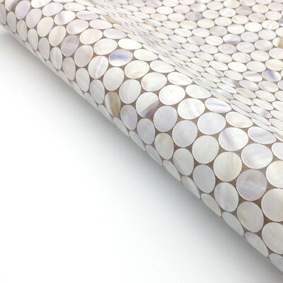 Circle Tile Pattern Contact Paper Peel And Stick Wallpaper Self-adhesive