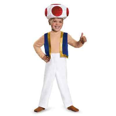 Toad Super Mario Brothers Nintendo Fancy Dress Halloween - Mario Brothers Toad Kostüme