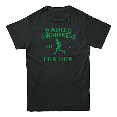 Rabies Awareness 2007 Fun Run The Office Scott TV Show Sitcom Funny Mens T-shirt - Fun Office