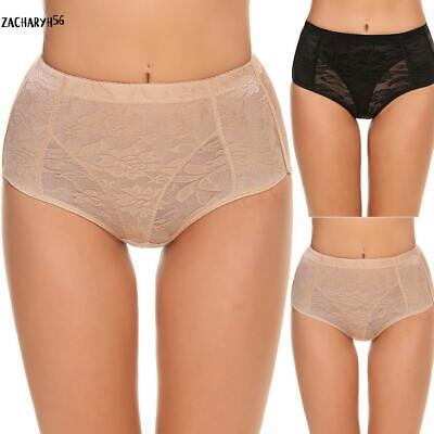 Damen Spitzen Body Shaper Jacquard gepolstert Panty zac (Panty Gepolsterte)