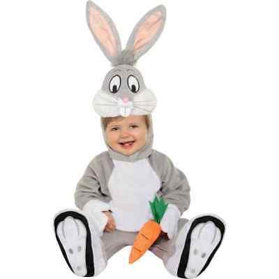 Bugs Bunny Looney Tunes Cartoon Animal Fancy Dress Halloween Baby Child Costume - Baby Bugs Bunny Halloween