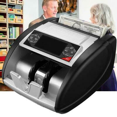 Money Counter With Counterfeit Bill Detector Sorter Machine Electronic Digital