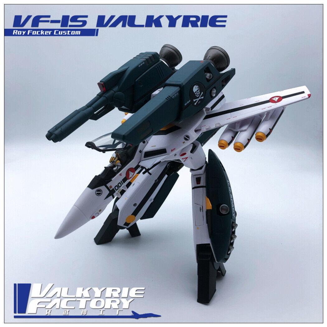 New Valkyrie factory 1//60 Macross ARCADIA VF-1S Roy Focker No SSP Backpack Ko