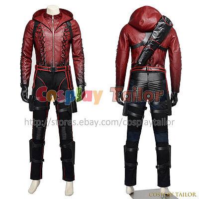 Green Arrow Season 3 Red Arrow Roy Harper Cosplay Halloween Costume New Version](Red Arrow Halloween Costume)