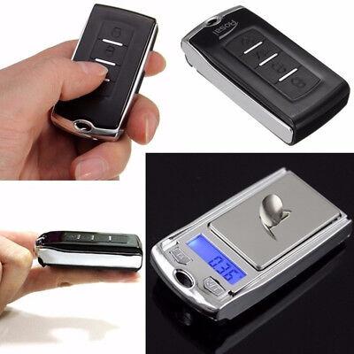 Mini Car Key Pocket Jewelry Diamond Scale Digital Style Light Weight 0.01g x100g