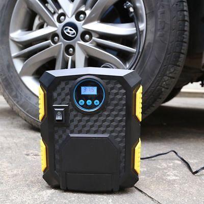 Car Bike Ball Air Compressor Tyre Portable Electric Digital Inflator Pump Wheel, used for sale  United Kingdom