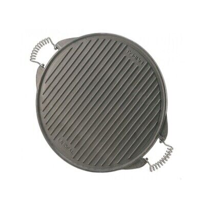 Garcima Reversible Round Cast Iron Griddle Reversible Round Griddle