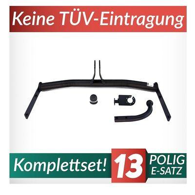 Für Volkswagen VW Polo V 6R Fließheck 09-14 Anhängerkupplung starr+E-S 13p spez