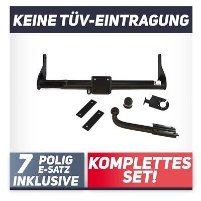 Anhängerkupplung fest Für Renault KANGOO II Kasten ab 05.2013+E-SATZ 13p SPEZ.