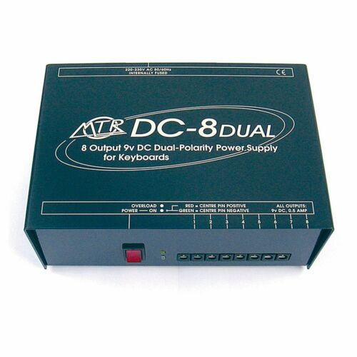 MTR DC-8 Dual Multiway PSU Power Supply for up to 8 YAMAHA Keyboards