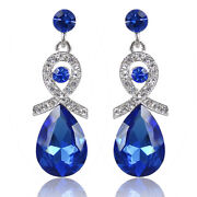 Royal Blue Rhinestone Jewelry