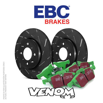 EBC Rear Brake Kit Discs & Pads for Seat Ibiza Mk3 6L 1.9 D 2002-2005
