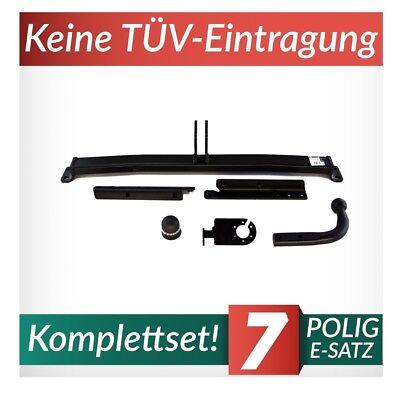 Anhängerkupplung starr+E-Satz 7p Für Nissan Micra III K12 3/5-Tür 03-10 Kpl. (10 K Anhänger)