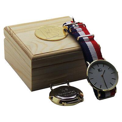 ENGRAVED Designer Wristwatch Luxury Watch Free Engraving WEDDING GROOM BEST