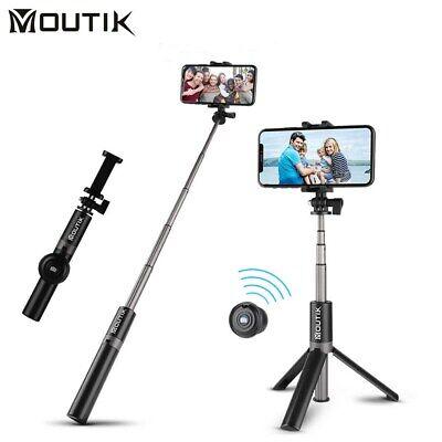Moutik Bluetooth Selfiestick Selfie Stick Stativ Tripod Teleskop für iPhone XS