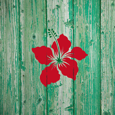 Used, Small Hibiscus Wall Art Stencil for DIY Wall Art Easier and Quicker than Decals for sale  Shipping to Canada