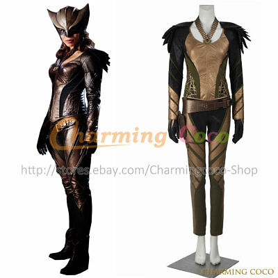 Legends Of Tomorrow Cosplay Hawkgirl Kendra Saunders Costume Halloween Uniform