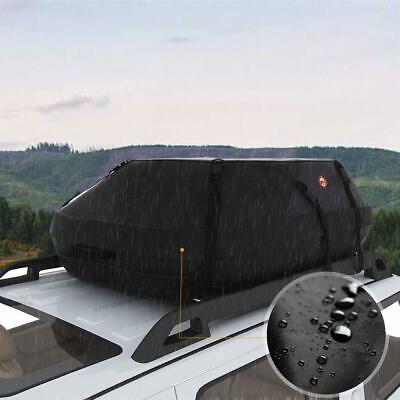 - Cargo Roof Top Carrier Bag Rack Storage Luggage Car Rooftop Travel Waterproof