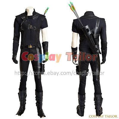 Captain America 3 Civil War Hawkeye Cosplay Clint Barton Superhero Costume Cool