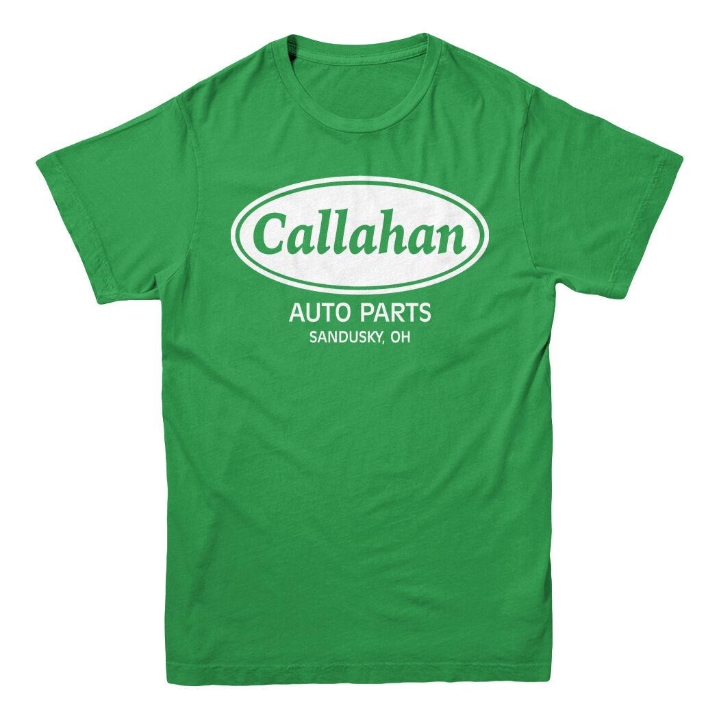 Car Parts - Callahan Auto Parts Tommy Boy Farley Spade Funny Movie Men's Kelly Green T-shirt