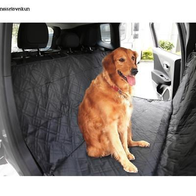 Large Deluxe Quilted Padded Hammock Car SUV Back Seat Cover for Pet Dogs Supply
