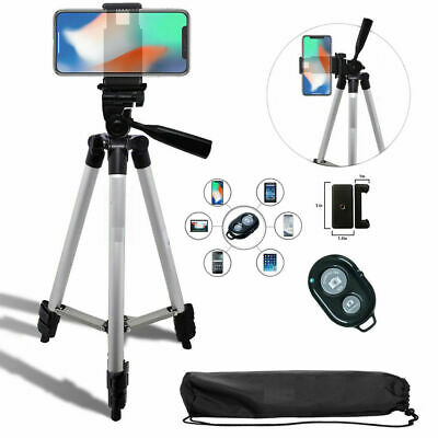 "50"" TRIPOD + MOUNT +  REMOTE for IPHONE 7 8 X 10 XS 11 SAMSUNG NOTE GALAXY"