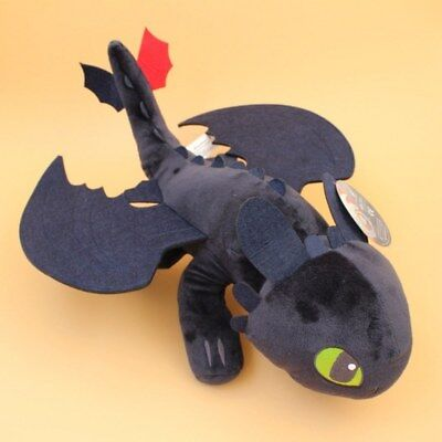 How To Train Your Dragon 2 Toothless Plush Soft Toy Night Fury Doll Figure 21