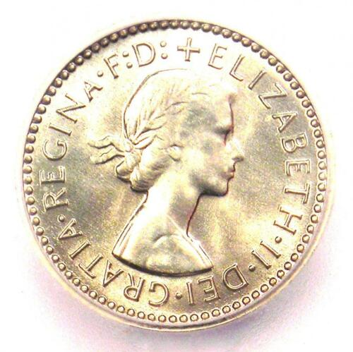 1959 Australia Elizabeth PROOF Threepence Coin 3P KM-57 - ICG PR68 (PF68)