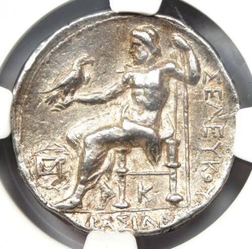 Seleucus I Alexander the Great III AR Tetradrachm 312-281 BC - NGC Choice VF