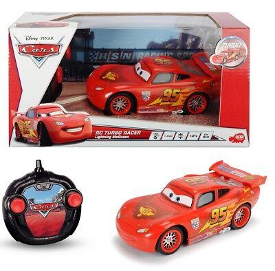 RC Turbo Racer Cars Lightning Mc Queen Ferngesteuertes Rennauto Dickie Toys Neu!
