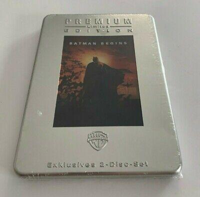 Batman Begins   German   DVD 2 Disc Premium Limited Edition Steelbook  - dents