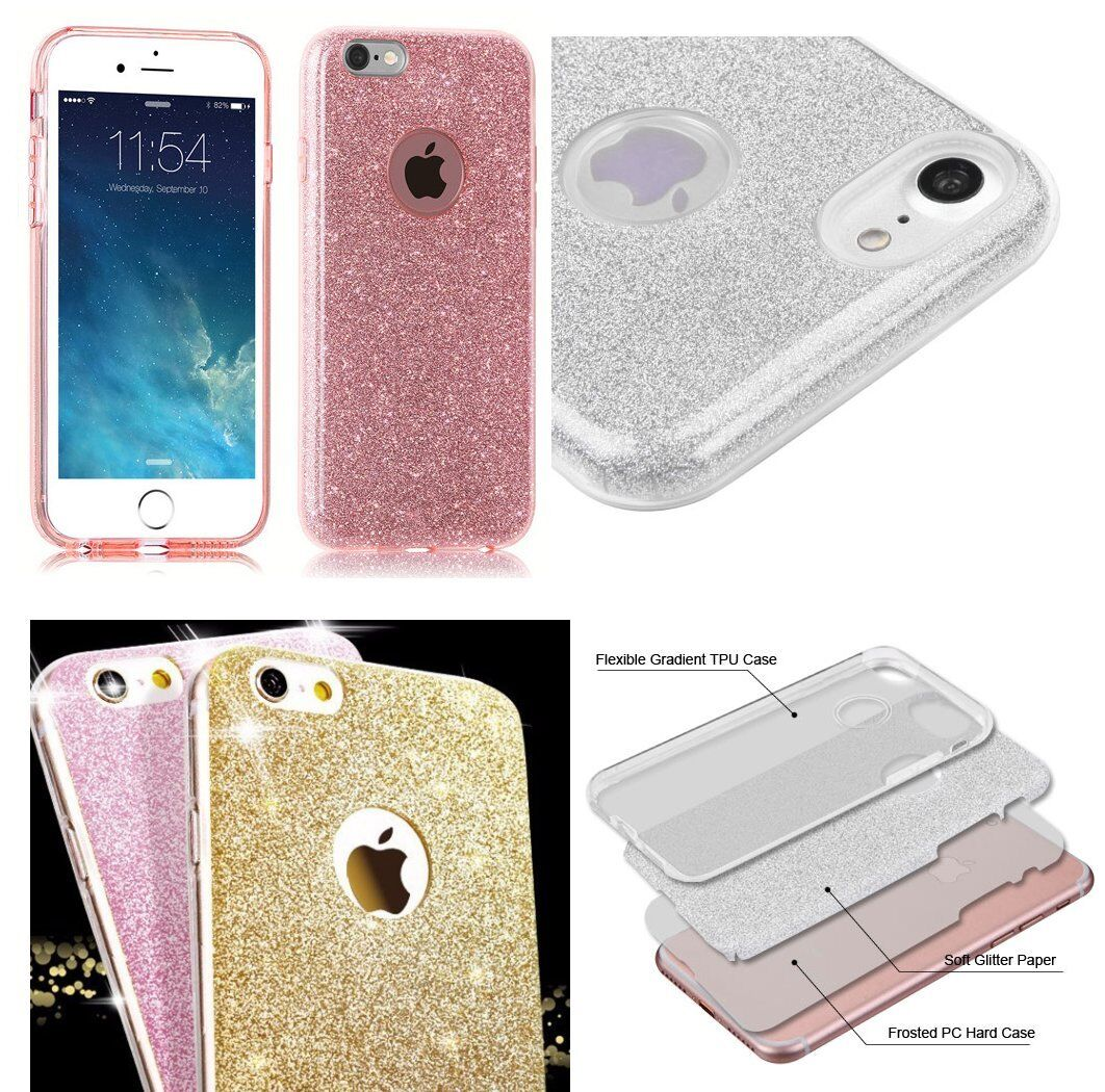 for iPhone 7/8 & 7+8+ PLUS -Ultra Thin TPU Rubber Case Cover