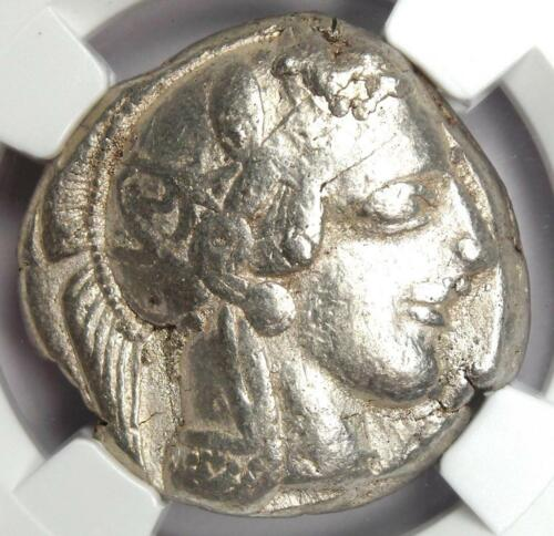 Ancient Athens Greece Athena Owl Tetradrachm Coin (440-404 Bc) - Ngc Choice Fine