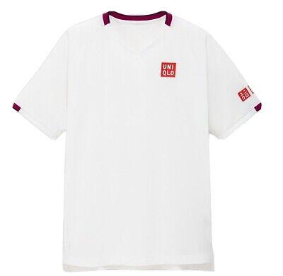 UNIQLO Roger Federer Tennis Shirt Australian Open 2020 White - L  BNWT BRAND NEW