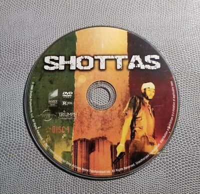 Shottas    (DVD)   Disc Only  No Artwork      LIKE NEW