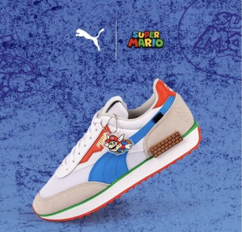 NINTENDO PUMA FUTURE RIDER SUPER MARIO 64 BRAND NEW Mens US 9.5