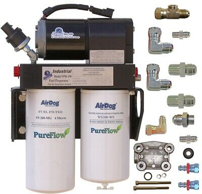 AirDog FPII-200 4G Cummins N14 Pump Mount Fuel Filter Medium Heavy Duty Diesel