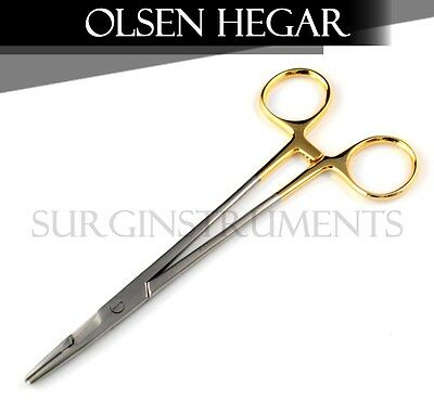 10 Tc Baby Olsen Hegar Needle Holder 4.50 Surgical Dental 4.50 4.5 4.5