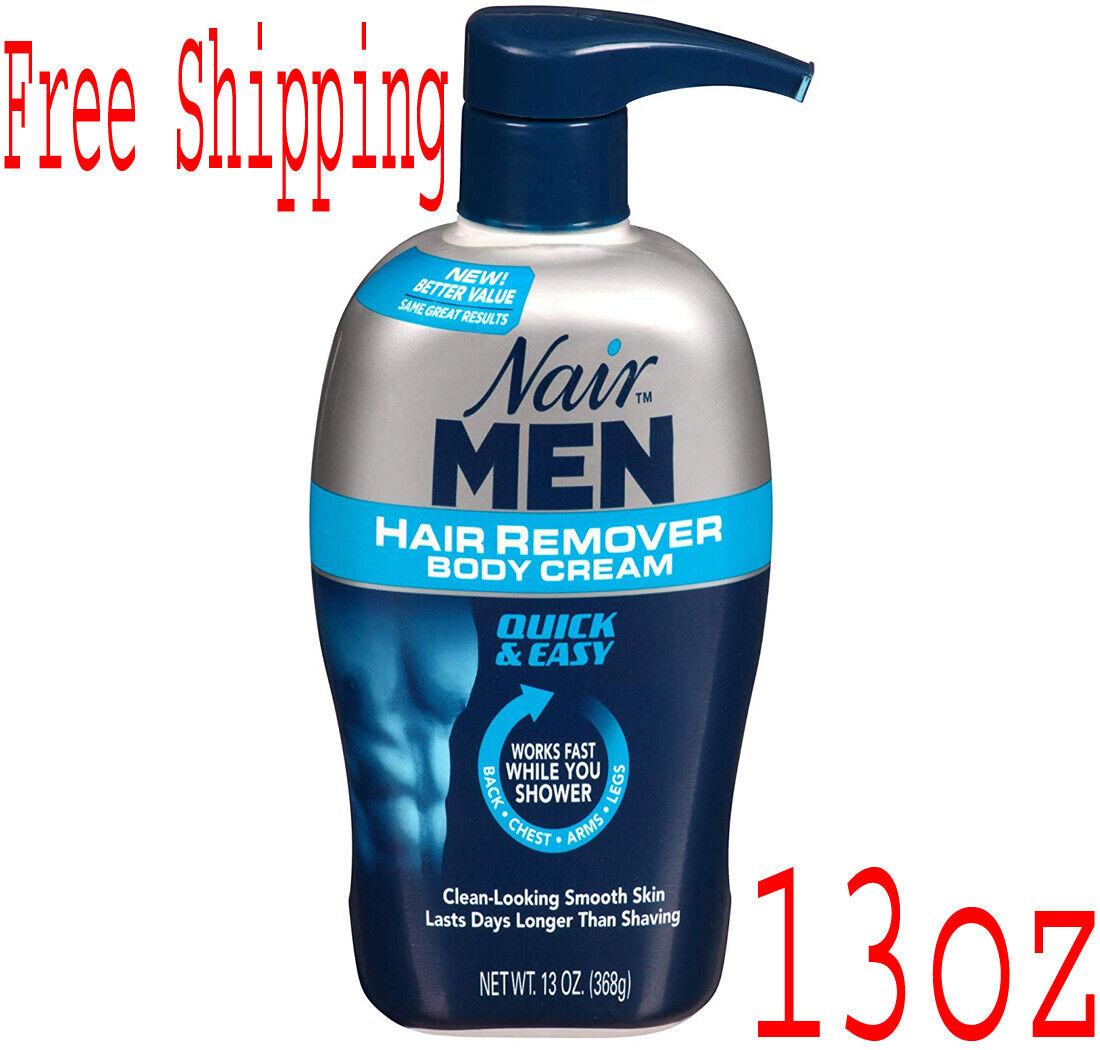 men hair removal body cream 13 oz