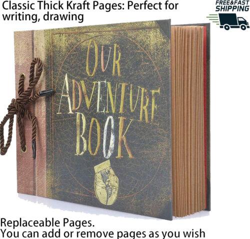 Photo Album Scrapbook, Our Adventure Book, DIY Handmade Album Scrapbook Movie...