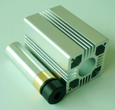 Diy Adjustable Focus Laser Housing 9mm To-5 W Plastic Lens Aluminum Heatsink