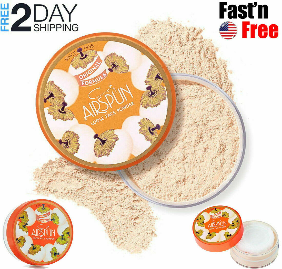 Coty Airspun Loose Face Powder  Setting Makeup  Translucent