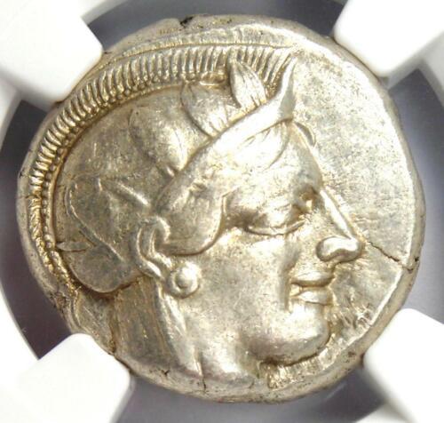 Ancient Athens Greece Athena Owl Tetradrachm Coin (440-404 BC) - NGC XF (EF)