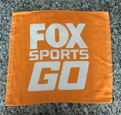Miami Marlins Fox Sports Go Florida Hand Towel Baseball Orange Wash