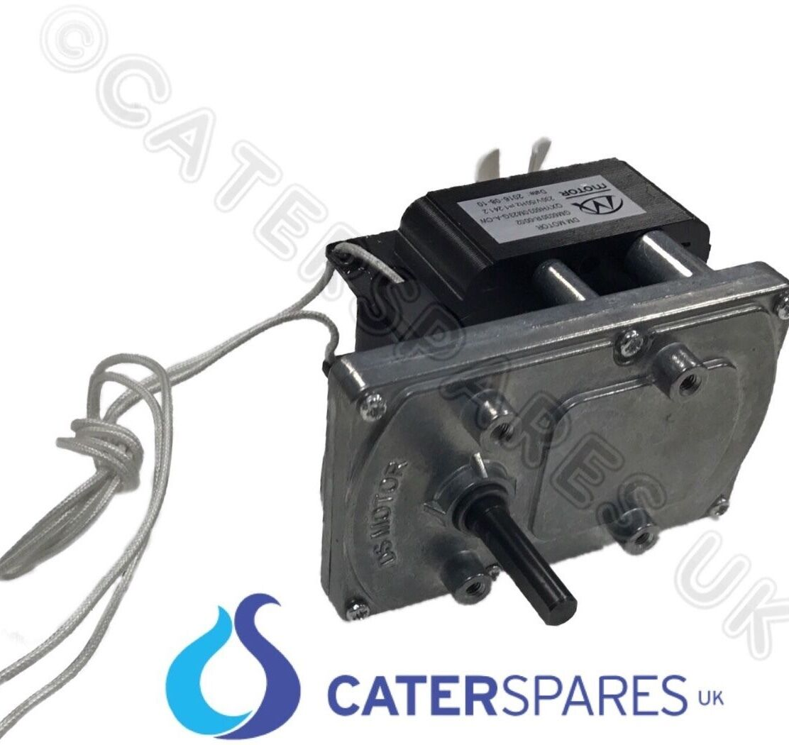 Details about NEW DRIVE MOTOR & GEARBOX 240V FOR COMMERCIAL ROTARY CONVEYOR  BELT TYPE TOASTER